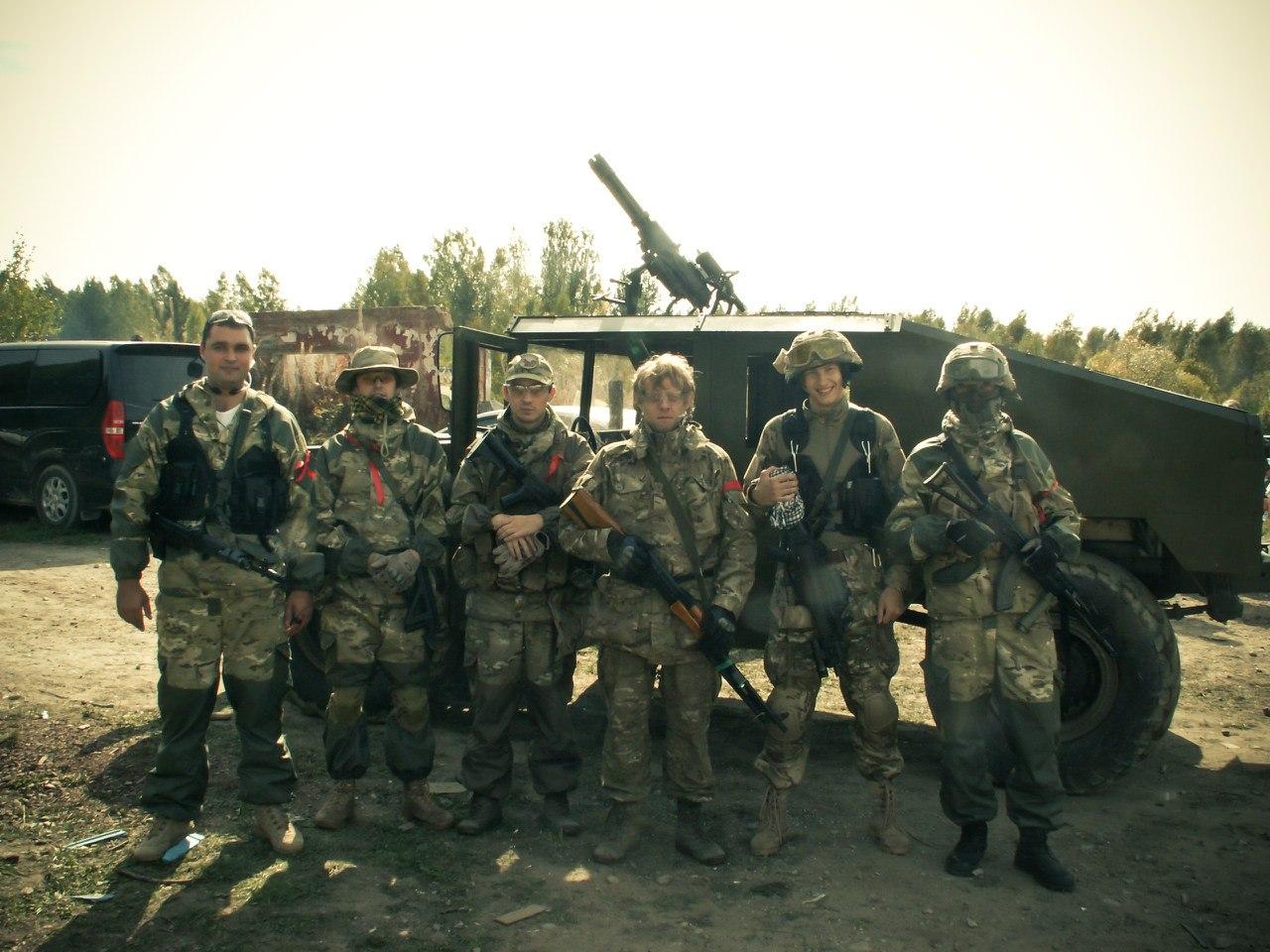 Команда Red Army: Закрытие страйкбольного сезона 2012
