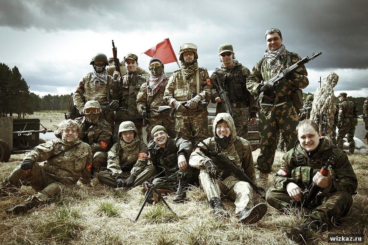 Первая игры команды Red Army