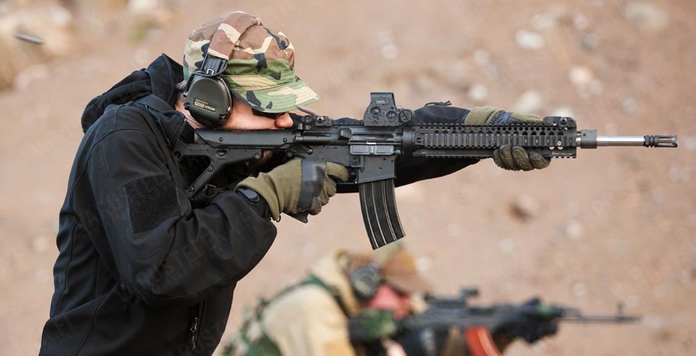 Активные наушники для стрельбы