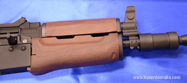 GBB версия АКС74У от KSC с печально пластиковым цивьем