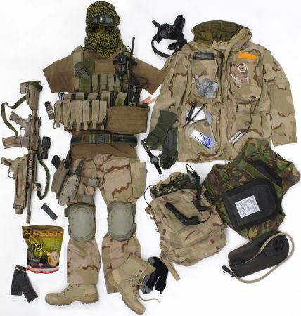 Комплект снаряжения и вооружения