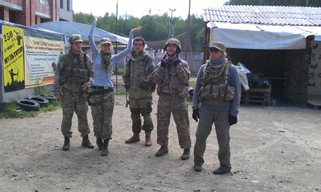 Фото с командной тренировки
