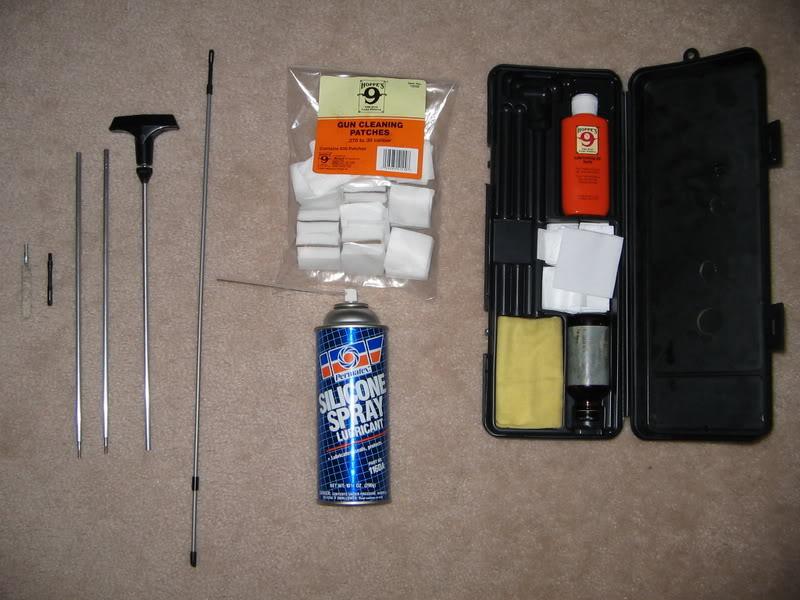 Комплект для чистки страйкбольного оружия