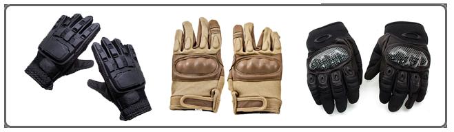 Защитные перчатки для страйбола
