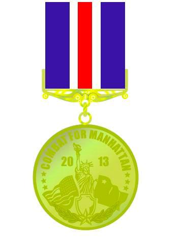 памятная медаль проекта Манхэттен