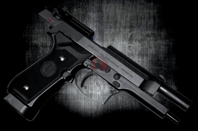 стальная CO2 версия пистолета M9 от Airsoft Surgeon