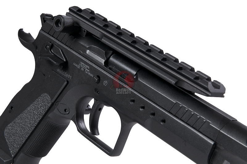 Страйкбольный пистолет CZ75 IPSC от KWC