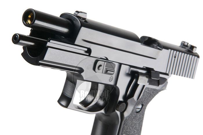 Страйкбольный пистолет P226 KP01-E2 (CO2\GreenGas) от KJ Works