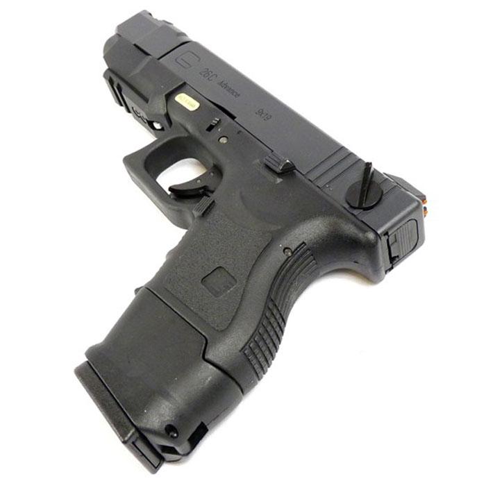 Страйкбольный пистолет WE Glock G26 GBB