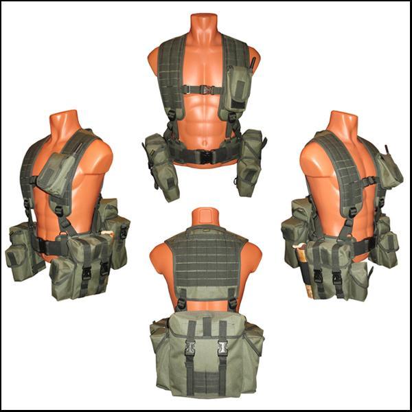 Ременно-плечевая разгрузочная система на основе MOLLE