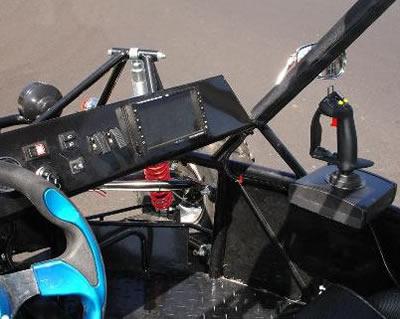 Джойстик для управления пулеметом на багги Raptor LSV4