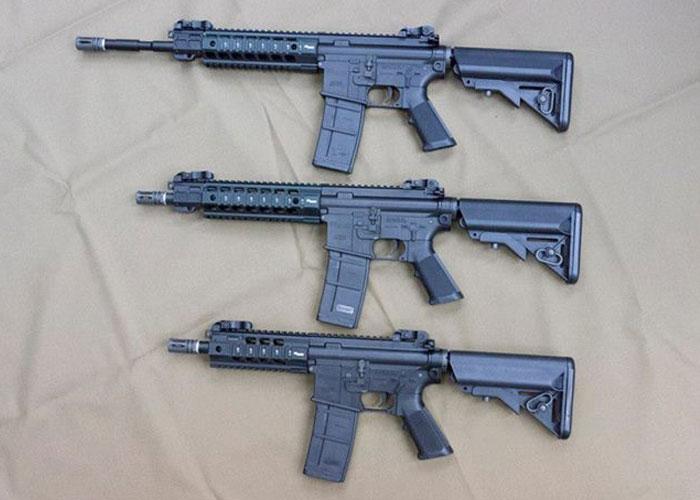 Новая линейка страйкбольного оружия SIG 516 от King Arms