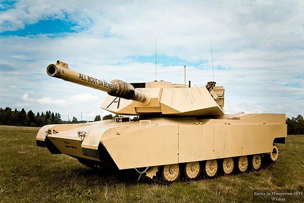 Страйкбольный Абрамс А1М1 полностью готов!