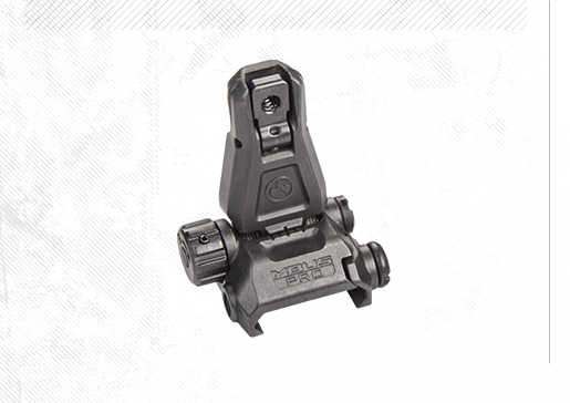 MBUS® Pro - Magpul® Back-Up Sight – Rear (Целик)