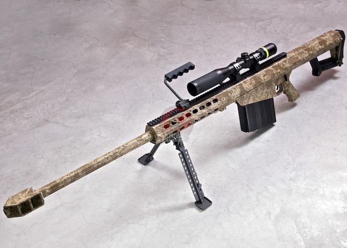 Страйкбольная винтовка RWC Barrett M82A1 Ver.2 в Digital Desert