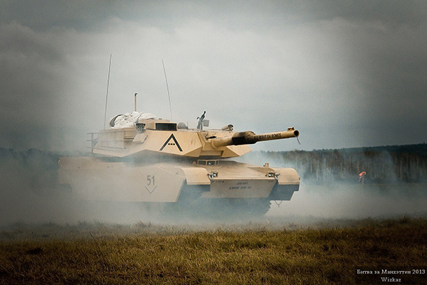 Story and process of creating airsoft M1A1 Abrams tank