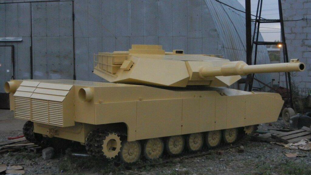 Страйкбольный Абрамс А1М1 почти готов!