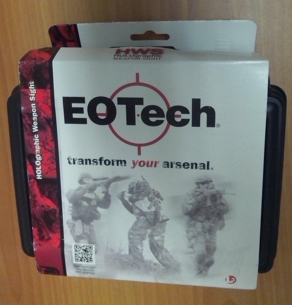 Коробка от прицела Eotech XPS2