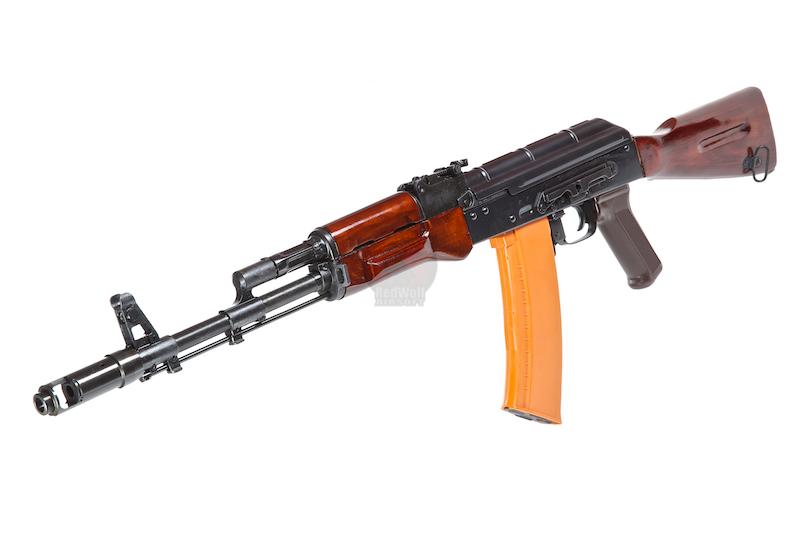 Страйкбольный автомат E&L Airsoft AK74 NV Full Steel AEG