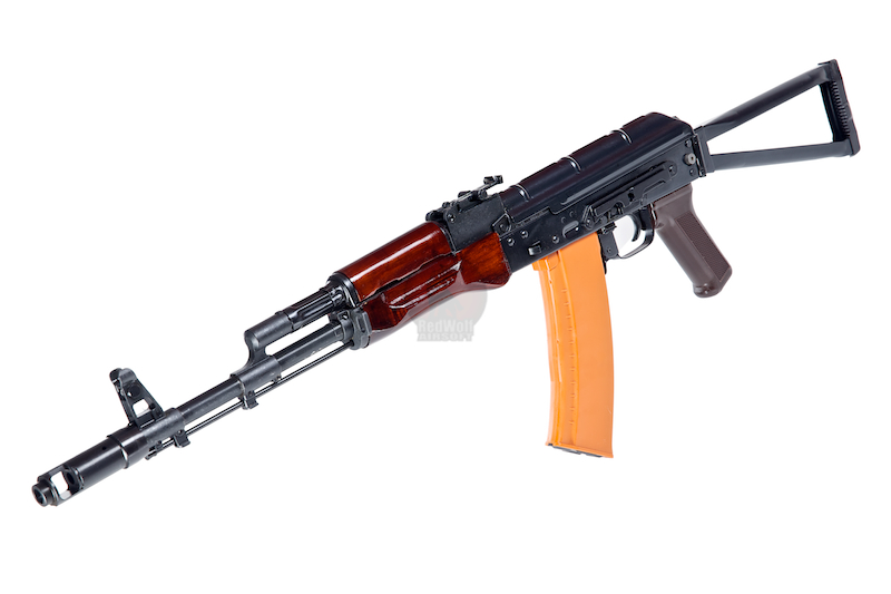 Страйкбольный автомат E&L Airsoft AKS74 N-V Full Steel AEG