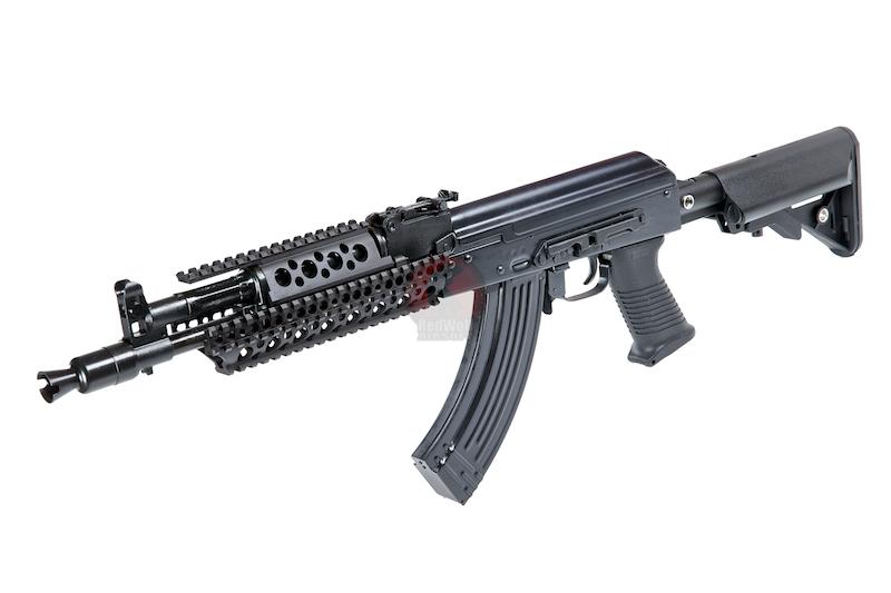 Страйкбольный автомат E&L Airsoft AK104PMC-C Full Steel AEG