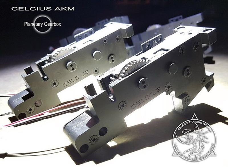 CELCIUS-AKM-Gearbox