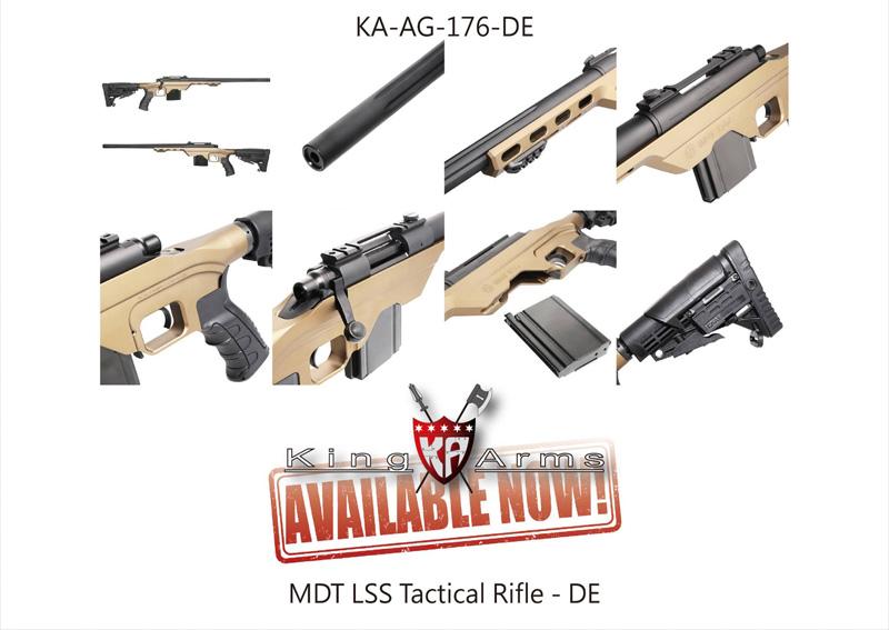 Газовая-винтовка-MDT-LSS-Tactical-Rifle-от-King-Arms