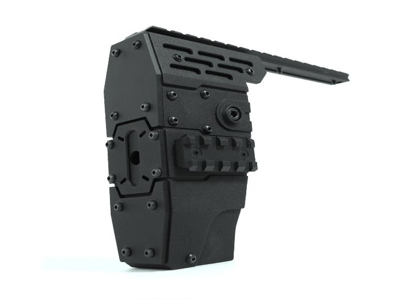 Агрессивное-цевье-с-RIS-планками-Nitro.Vo-P90-Armored-Rail-System-от-Laylax-для-приводов-TM-P90.4
