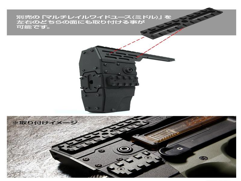 Агрессивное-цевье-с-RIS-планками-Nitro.Vo-P90-Armored-Rail-System-от-Laylax-для-приводов-TM-P90.8