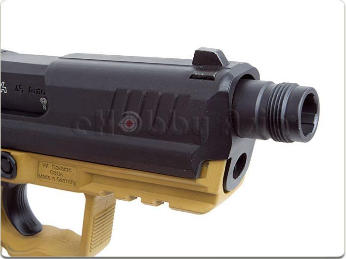 Страйкбольный GBB пистолет HK45CT Navy Seal RAL 80001