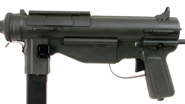 Обзор страйкбольной версии пистолета-пулемета M3 Grease Gun от ARES airsoft, redarmyairsoft, страйкбол, M3 Grease Gun, оружие, автомат, видео, длиннопост